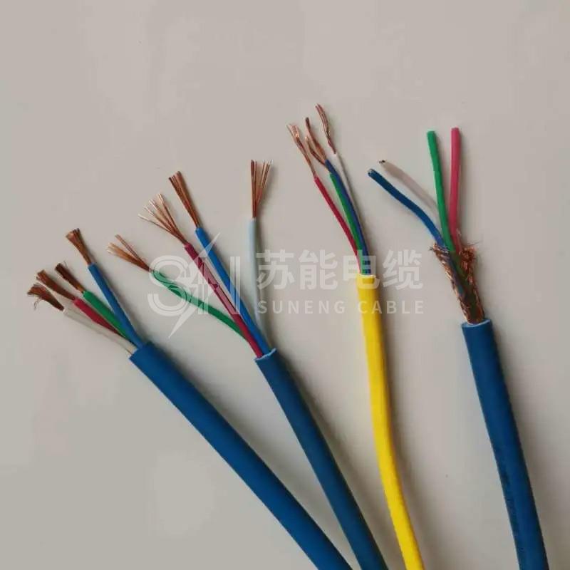 矿用软芯通信信号电缆 MHYVR