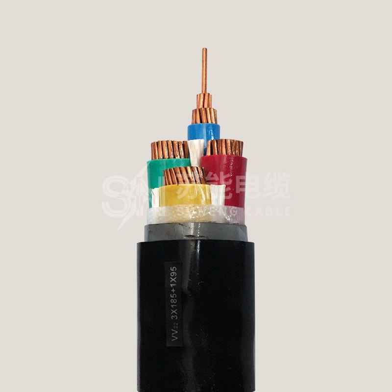 塑料绝缘电力电缆 VV22